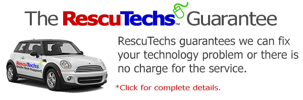 RescuTechs Computer Repair and Tech Support Guarantee